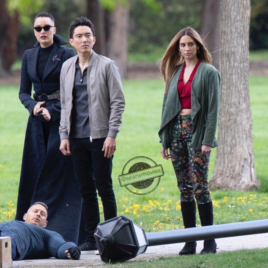 Umbrella Academy Season 3 - Set Shots