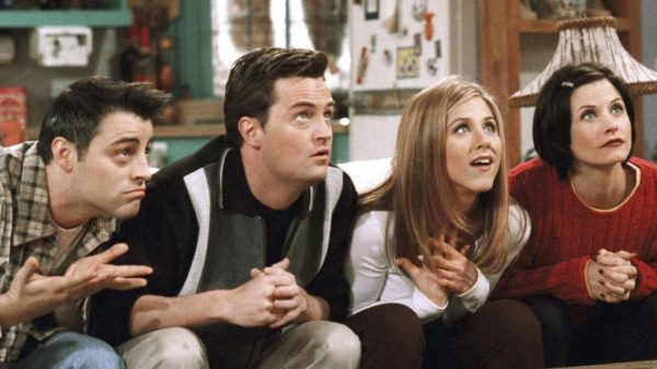 friends- sitcoms of the 90s